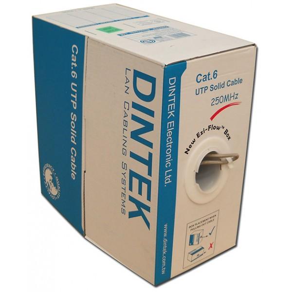 Cáp mạng Dintek CAT.5e UTP, 4 pair, 24AWG, 100m/thùng (1101-03004)