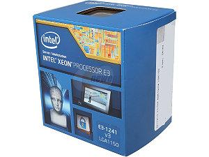 Intel Xeon Processor E3-1241 v3  (8M Cache, 3.50 GHz)