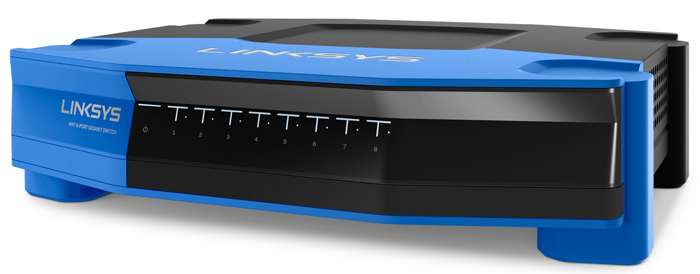 Linksys SE4008 Wrt 8-Port Gigabit Ethernet Switch (SE4008)