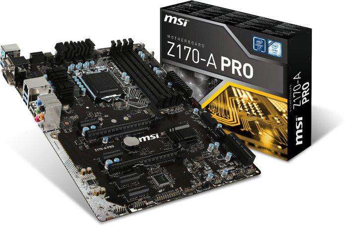 Mainboard MSI Z170-A PRO Socket 1151 (Z170-A PRO)