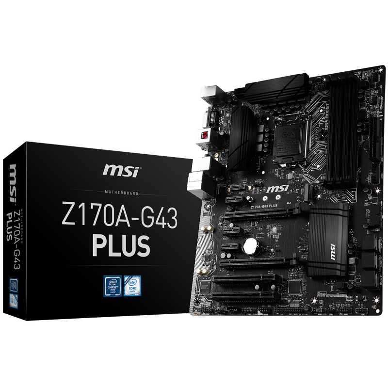 Mainboard MSI Z170A-G43 PLUS Socket 1151 (Z170A-G43 PLUS)