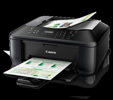 Máy in Canon PIXMA MX397, In, Scan, Copy, Fax, In phun màu