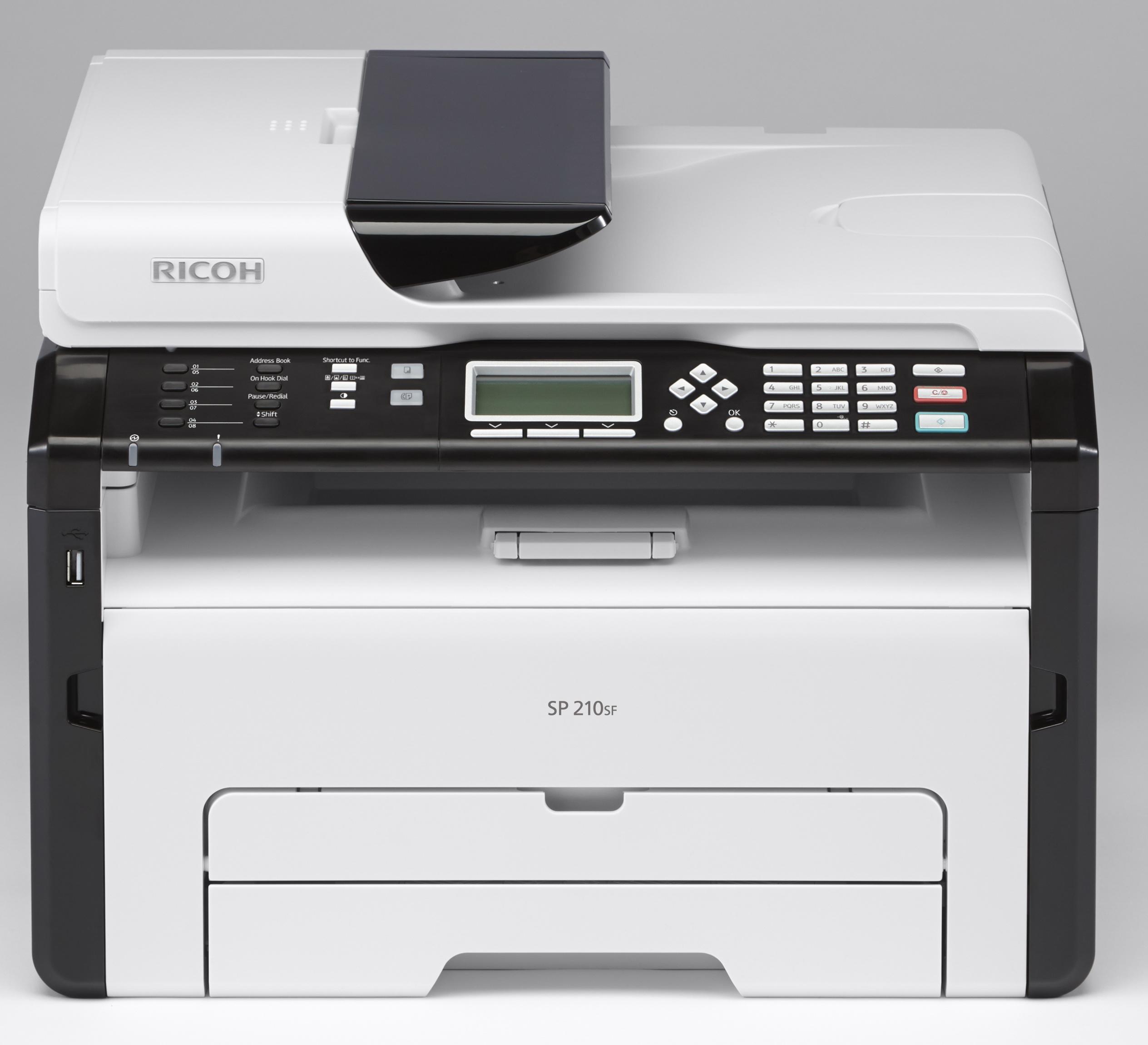 Máy in đa năng Ricoh SP-210SF, (Print / Copy / Scan / Fax )