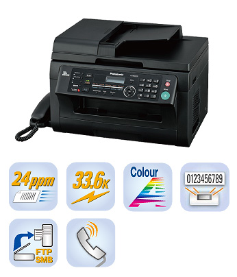 Máy in Panasonic KX MB2030, In, Scan, Copy, Fax, Telephone