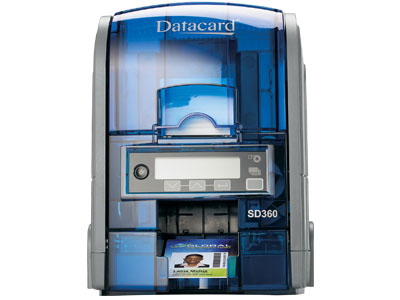 Máy in thẻ Datacard SD360, in màu hai mặt