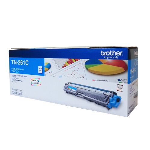Mực in Brother TN 261 Cyan Toner Cartridge (TN-261C)