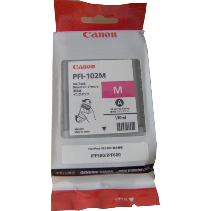 Mực in Canon PFI-102M Magenta Ink Tank