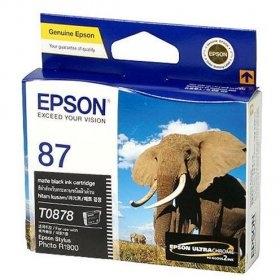 Mực in Epson 87 UltraChrome Hi-Gloss2 - Matte Black Ink Cartridge