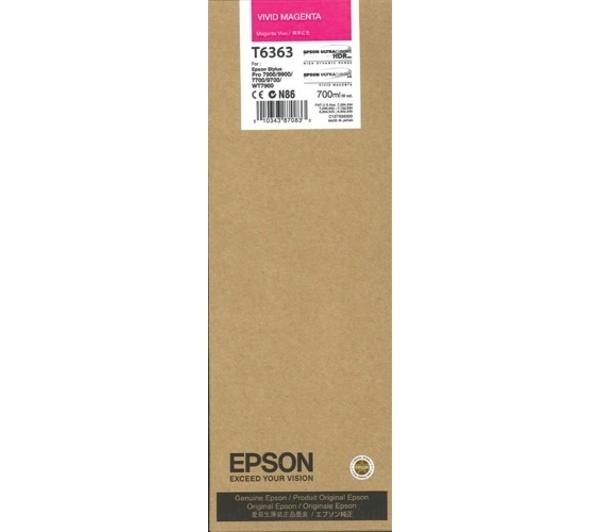 Mực in Epson T6363 Vivid Magenta Ink Cartridge (C13T636300)