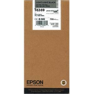 Mực in Epson T6369 Light Light Black ink cartridge (C13T636900)