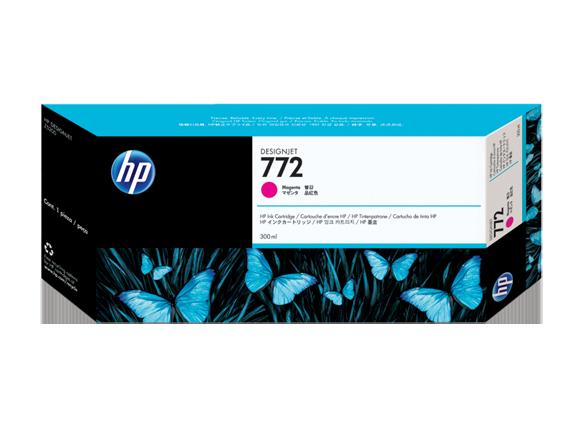 Mực in HP 772 300-ml Magenta DesignJet Ink Cartridge (CN629A)