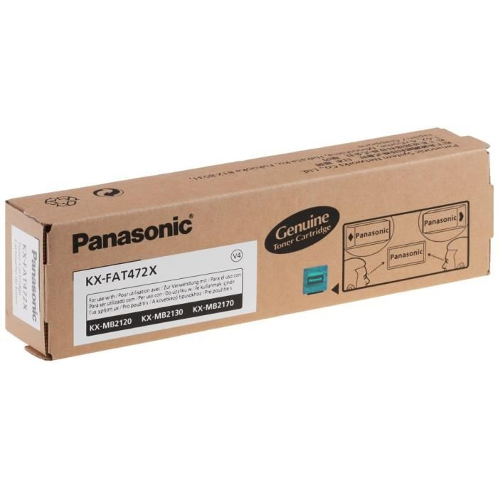 Mực in Panasonic KX FAT472 Black Toner Cartridge