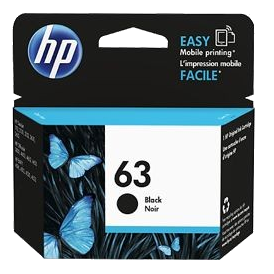 Mực in phun HP 63 Black Original Ink Cartridge (F6U62AA)