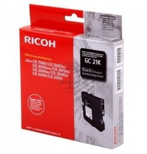 Mực in Ricoh GC21 Black Gel Cartridge