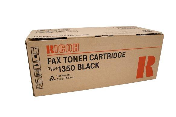 Mực in Ricoh Type 1350 Fax Toner Cartridge