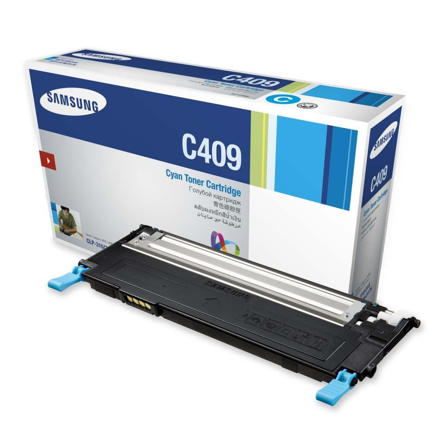 Mực in Samsung CLT C409S Cyan Toner Cartridge