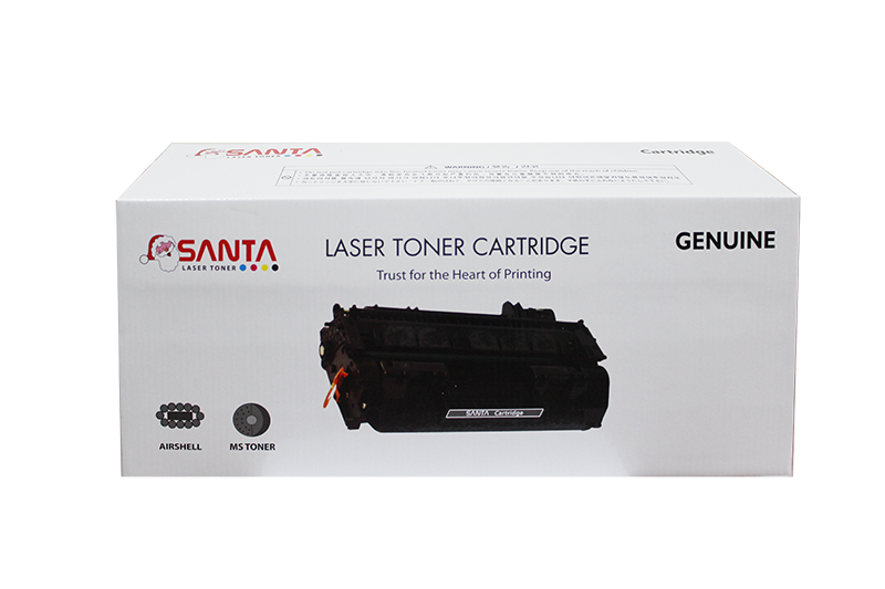 Mực in Santa 128A Cyan LaserJet Toner Cartridge