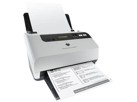 Scan HP Scanjet Enterprise 7000 s2 Sheet feed Scanner (L2730B)