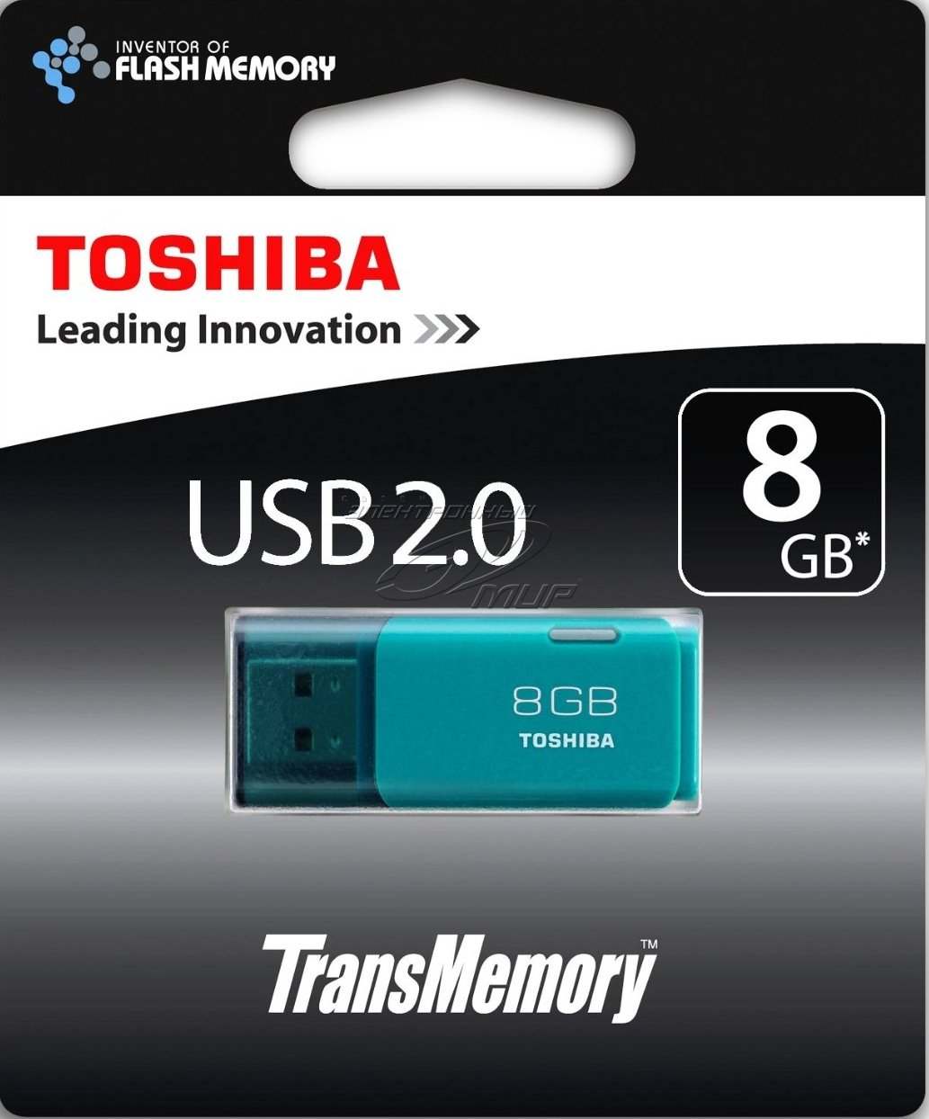 USB 8GB Toshiba TransMemory U202 Aqua (THN-U202L0080E4)