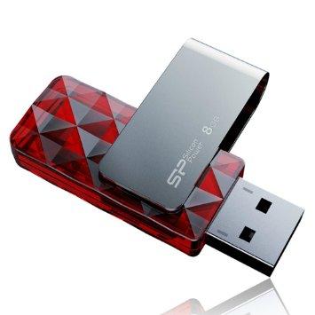 USB Silicon 8GB, 2.0 (SP008GBUF2U30V1R)